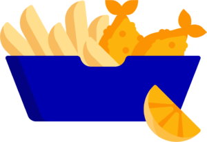 london pass fish n chips icon