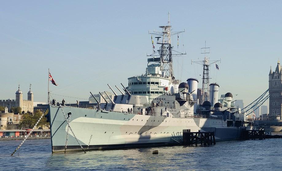 iventure card london HMS Belfast