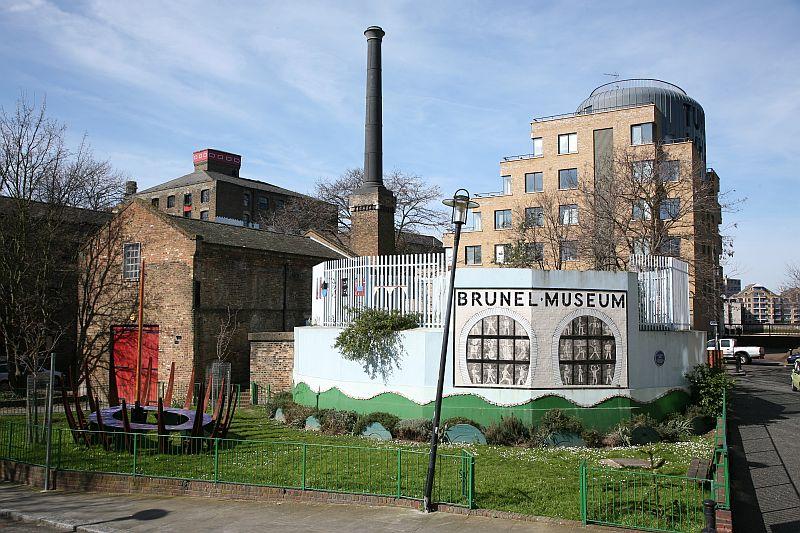 national art pass Brunel museum mural