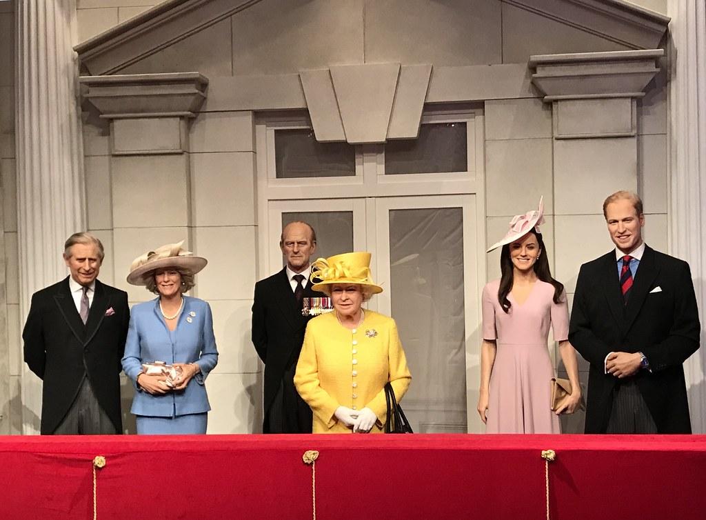 merlin pass london Madame Tussauds Royal Family