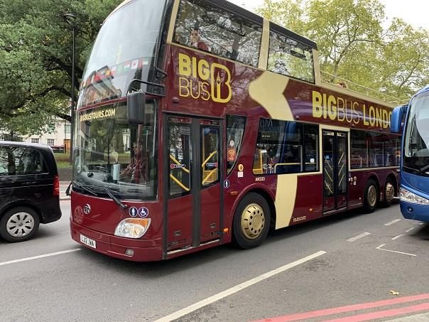 hop on hop off london Big Bus Tours