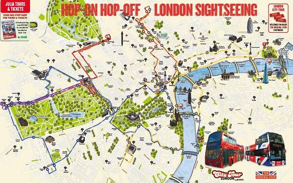 hop on hop off london