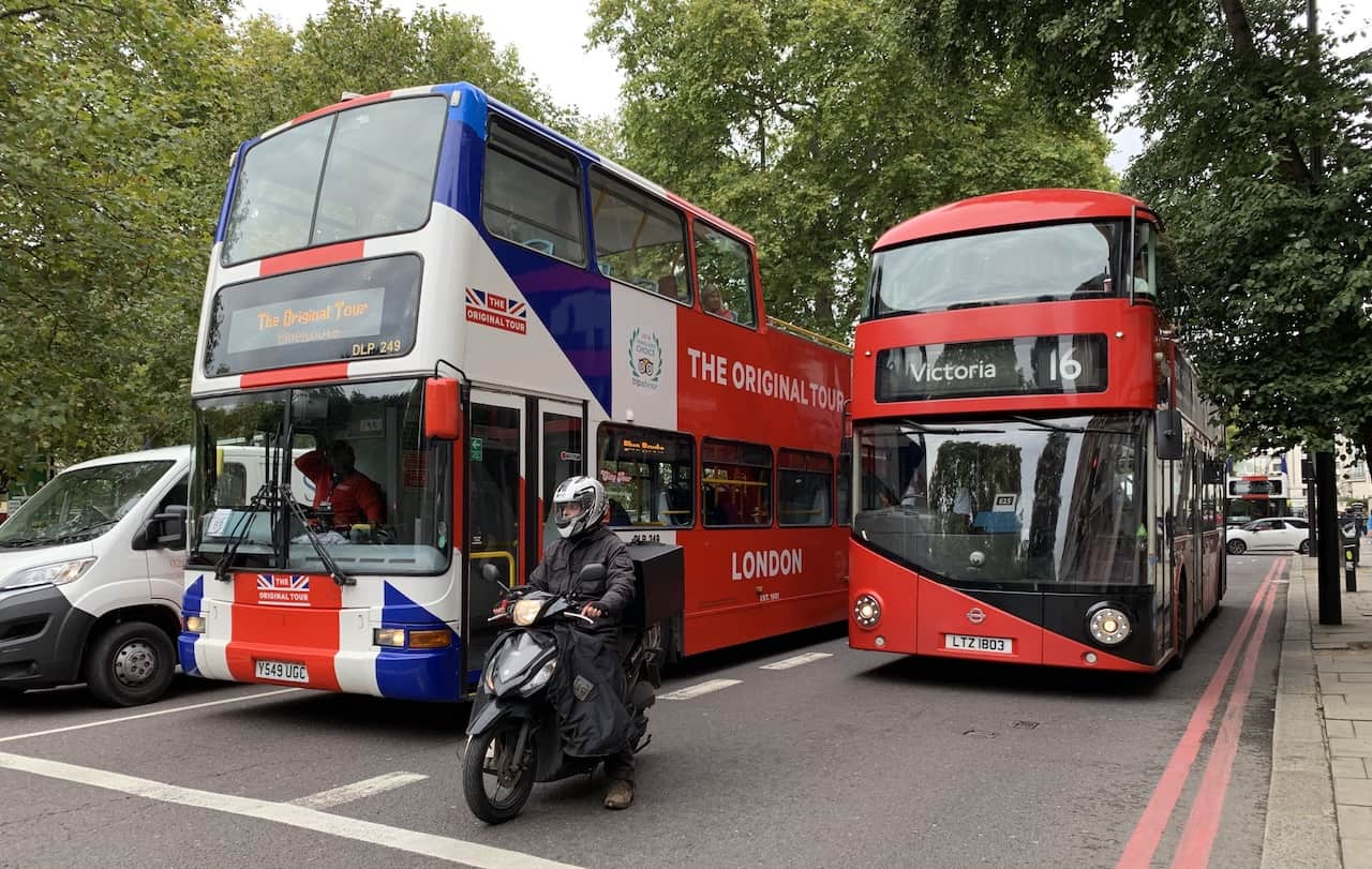 Original Tour bus London