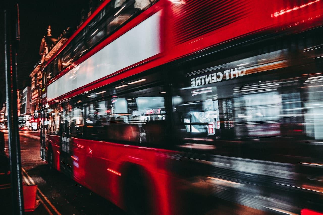 night hop on hop off london bus