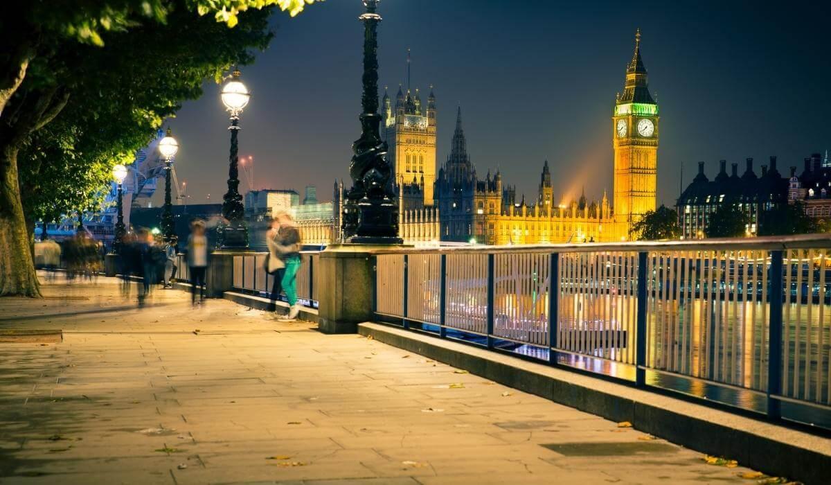 Romantic places in London